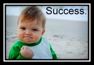 success - blog success is your only option