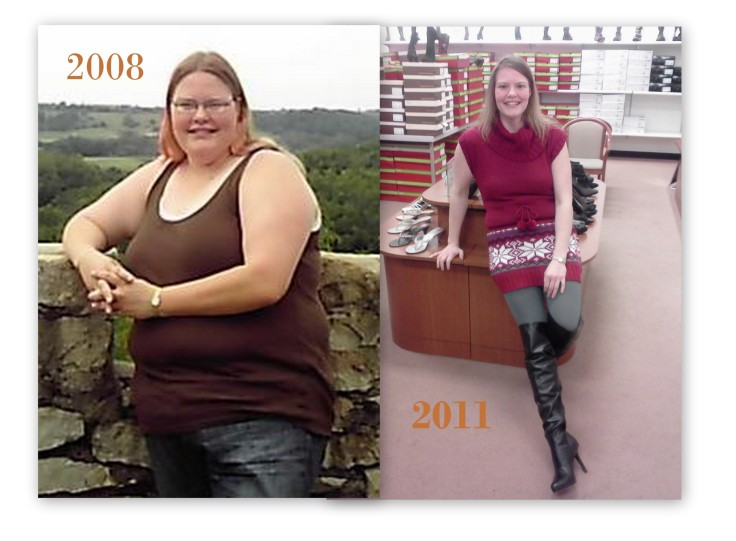 2008 summer vacation one year before I started my weight loss journey. 2011 I'm 120 pounds down