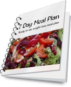 7 day weight loss meal plan for busy moms