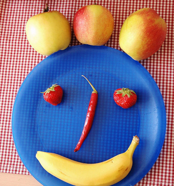 the_moment: smiley face plate