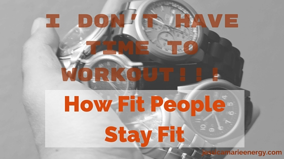 How fit people stay fit