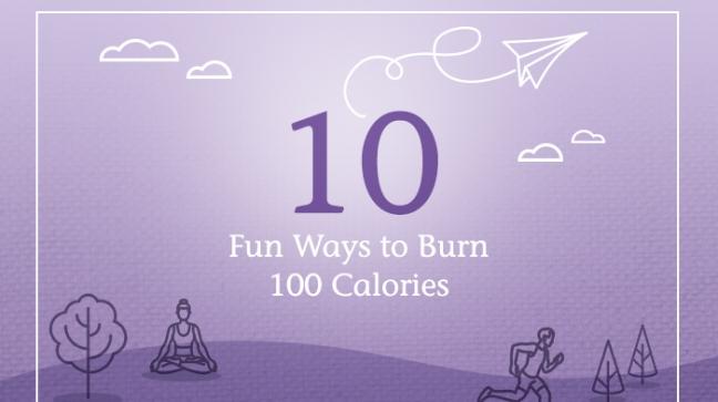 Chobani 100 fun ways to burn 100 calories