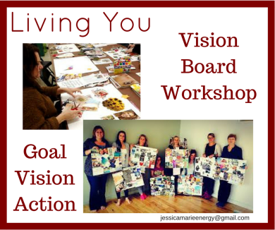 Living You Vision Board Workshop
